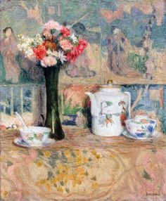 Eugene-Antoine Durenne - Still life Be Still, Still Life, Beautiful, Crumpets, Paintings, Artists, Flower Sketches, Blessing, Flowers