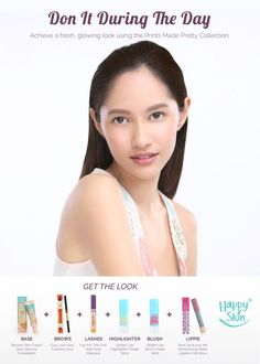 Lookbook - Plains and Prints Happy Skin, Skin Cream, Spring Summer 2016, Second Skin, Get The Look, Mascara, Eyebrows, Lashes, Blush