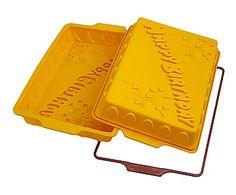 Set de 2 moldes de silicona para tartas Birthday