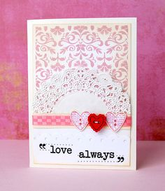 love always doily
