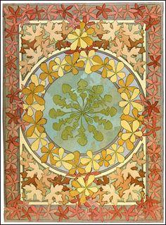 Alphonse Mucha     Documents Decoratifs ~ 1901