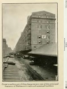 Railroad terminal - this is now part of Camden Yards. Baltimore.