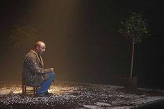 """""""Noosfera Museum"""" di Roberto #Latini/Fortebraccio Teatro. In foto: Roberto Latini. Foto di Angelo Maggio. #Teatro delle Passioni, #Modena, dal 14 al 16 maggio 2014"""