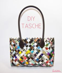 Creative stage - DIY Blog - Make your own bags from magazines
