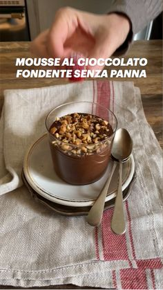 Italian Desserts, Italian Recipes, Chocolate Mousse Cake, Antipasto, No Bake Desserts, Raspberry, Cooking Recipes, Baking, Breakfast
