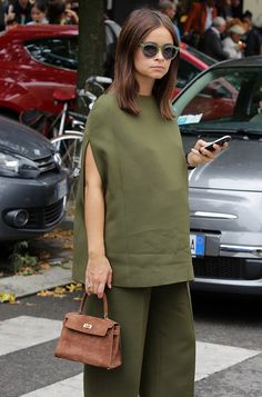 Bags and the Celebs Who Carried Them at Milan Fashion Week Spring 2015