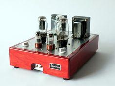 Specimen Single-Ended Stereo Tube Amp.