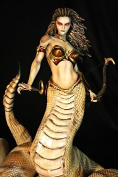 Echidna, Lamia, Fraus, Nüwa, Melusina, Apate, Isis ….the serpent woman of world mythology and legend