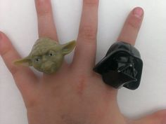 Yoda and Darth Vader Cupcake Rings 10 pack by HandcraftingHarmony, $2.80