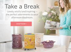 Take a look at my site! New products will be here in the next month! Contact me to host a party!