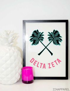 Palm Tree Smile Delta Zeta                                                                                                                                                                                 More