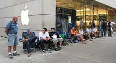 Guide to Waiting in Line for iPhone