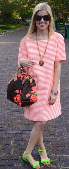Neon Marc dress
