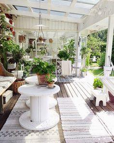 #inspiração com reuso de carreteis e espaços verdes.  http://ift.tt/1oztIs0  Pinterest:  http://ift.tt/1Yn40ab