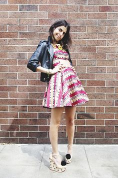 I keep seeing this skater style skirt...