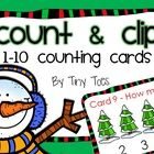Looking for a fun way to keep your PreK and Kinders engaged?  My little guys love these winter themed counting cards!    We use them in many differ...