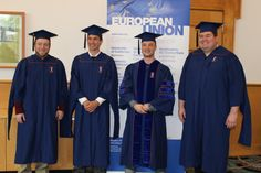 Graduates from the class of 2014! Learn more about the MA program in EU Studies: http://euc.illinois.edu/academic/overview.html.