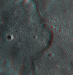 Some 3D pictures of the moon via NASA's Lunar Reconnaissance Orbiter (if you have red/blue-green glasses).