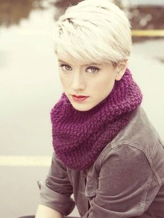 A BEAUTIFUL LITTLE LIFE: Winter Pixie Lookbook // Keep You Pixie Looking Hot When It's Cold Outside