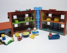 80's toys - Fisher Price doll house.  Loved this thing.