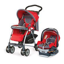 I don't know what I would do without this Chicco system and the caddy for the car seat! Perfect color scheme too... Stewart 14 red!