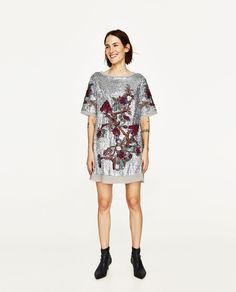 ZARA - WOMAN - SEQUIN MINI DRESS