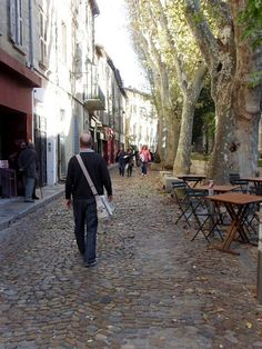 The street I lived on for 8 months. Rue des Teinturiers, Avignon, France.