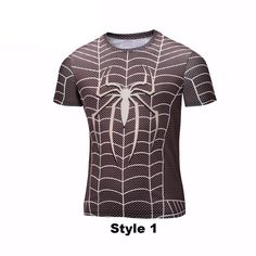 Spider-man 3-D Print Men's t-shirt - 4 styles!