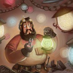 Master Kilvin by Joelle Saveliev / joellesaveliev.com | LIKE EolianTavern on Facebook at www.facebook.com/eoliantavern!