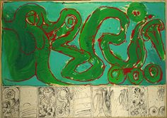Pierre Alechinsky, 'CoBrA de transmission', 1968