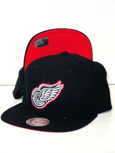 Casquette Mitchell   Ness Detroit Red Wings 8b3413760e15