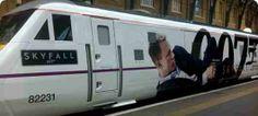 Skyfall : London to Edinburgh Train, Euston