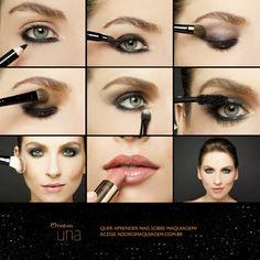 Olhos marcantes de verão? Nós temos! Veja mais em http://www.adoromaquiagem.com.br/dicas-maquiagem/novidades-tendencias/olho-marcante-de-verao/16094/ #look #maquiagem #NaturaUna