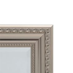 H Framed Recessed or Surface-Mount Bathroom Medicine Cabinet with Deco  Framed Door in Brushed Nickel