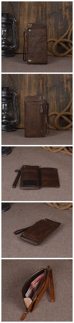 11600635282e3 Women s Long Leather Wallet Button Clutch Purse Card Holder Case Carteras  Hombre