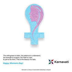Karnavati Automotive Group wishes everyone a very Happy Women's Day!