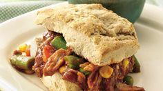 #1-Barbecue Pork Sandwiches