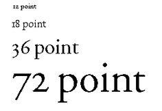 Measuring type