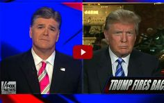 Hannity and the Fox News Channel:  Interview with Trump on Iran deal - ABQ.fm Radio