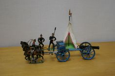 Heyde soldiers + limber and tent from box set size 2