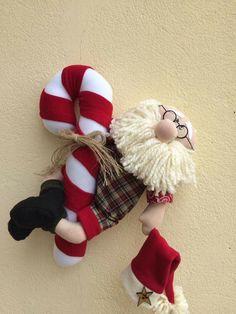 Christmas 2019, Christmas Wreaths, Merry Christmas, Garland Hanger, Santa Ho Ho Ho, Cute, Crafts, Ideas, Papa Noel