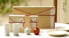 引出物 Japanese Modern, Chinese Style, Hamper, Packaging Design, Arts And Crafts, Wraps, Miniatures, Design Inspiration, Ceramics