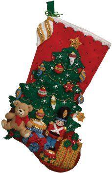 """Sous l'arbre Jersey feutre appliques Kit-18 """"Long"""