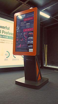 CENTURY digital billboard.  No words ! by PARTTEAM & OEMKIOSKS (see more at www.oemkiosks.com)