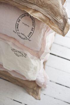Great bean bags! We love them! linge-de-maison-lin #beanbags