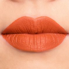 Jeffree Star Velour Liquid Lipstick in Pumpkin Pie Velour Liquid Lipstick, Lipstick Art, Lipstick Dupes, Lipstick Colors, Lip Colors, Orange Lipstick Makeup, Fall Lipstick, Lipsticks, Jeffree Star