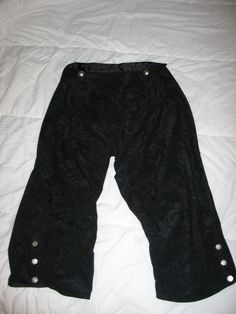 Renaissance Pirate or Colonial POTC Jack Sparrow male or female breeches pants. $59.99, via Etsy.