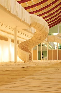 Wrapped Floors and Stairways and Covered Windows, Museum Würth, Künzelsau, Germany, 1994-95