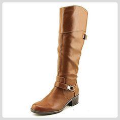 Alfani Frauen Fidoe Wide Calf Pumps rund Leder Fashion Stiefel Braun Groesse 9 US /40 EU - Stiefel für frauen (*Partner-Link)