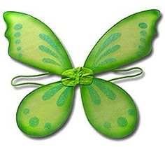 Green Wings: Pixie Tinkerbell Style Fairy Costume Wings by Lil Princess. $6.49. These beautiful Fairy Pixie wings will be perfect for your little pixie or fairy. They are perfect for Fairy Princess parties, Birthday gifts, fun pictures, costume parties, pixies, plays and dress up. Also great as party favors!